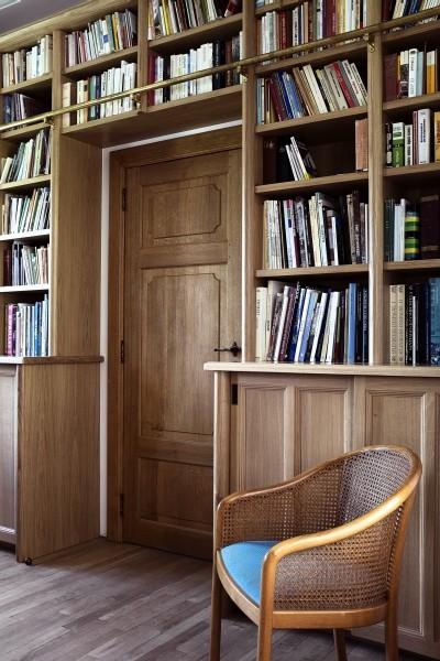 Bibliothèque maison de maitre