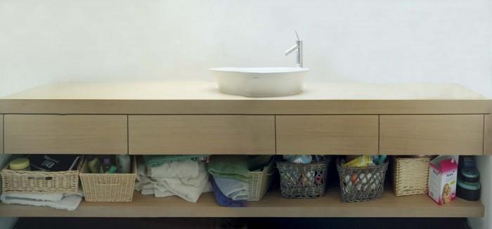 Meuble salle de bain épurée