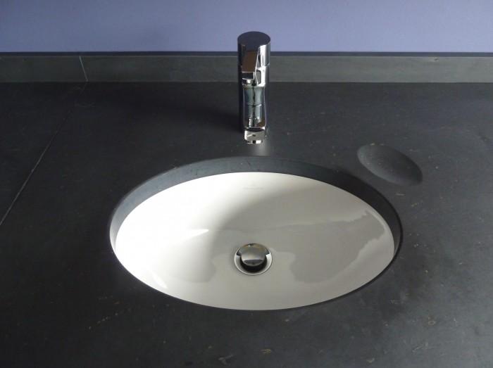 Pierre bleue pour salle de bain