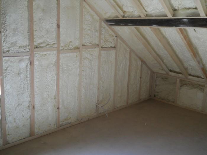 Projection polyuréthane murs