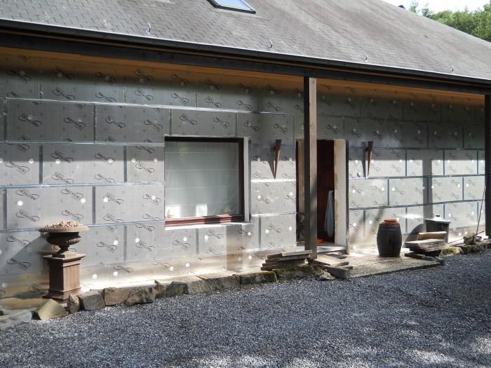 Panneaux polyuréthane Isolation façade