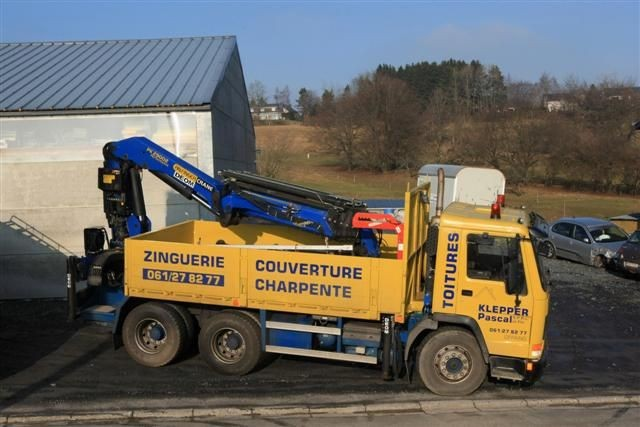 Camion grue - 1