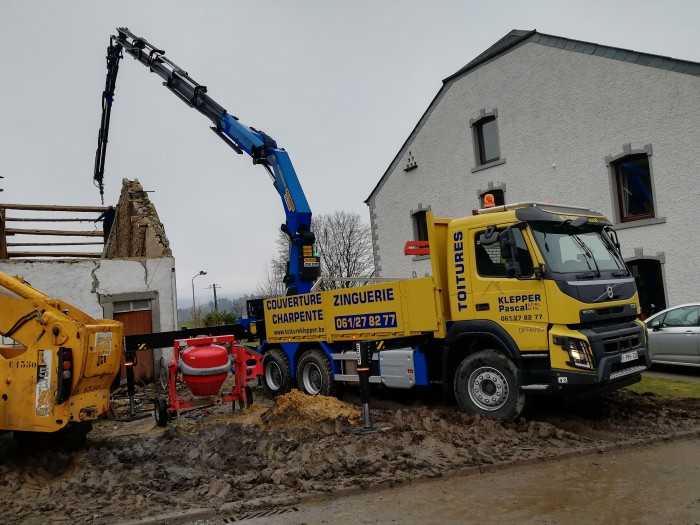Camion grue - 10