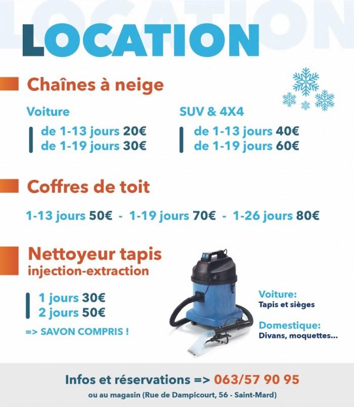 Locations Chaînes Et Box - 1
