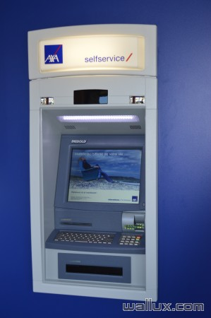 Distributeur Bancontact - 2