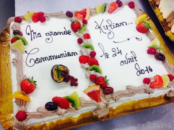 Gâteaux de communions - 7