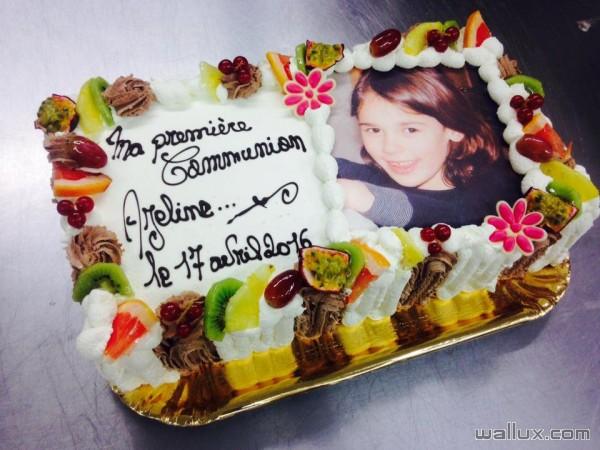 Gâteaux de communions - 8