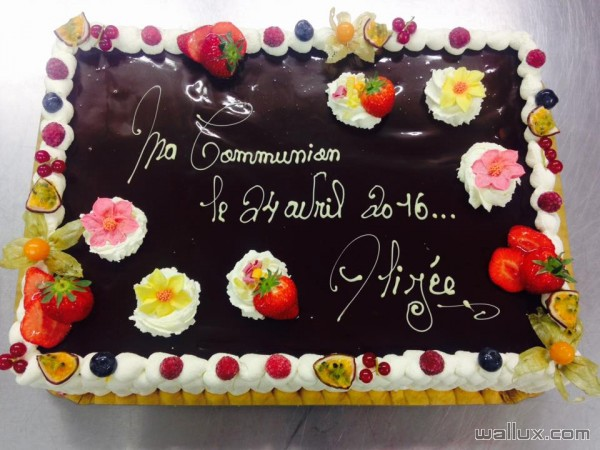 Gâteaux de communions - 9