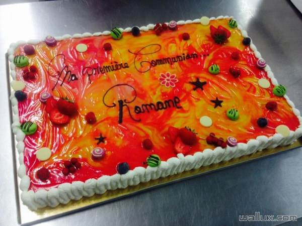 Gâteaux de communions - 10