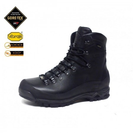Gamme de chaussures militaires.