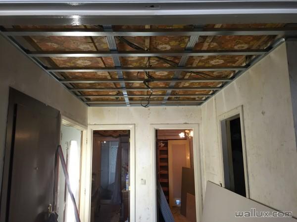 Faux Plafond double ossature