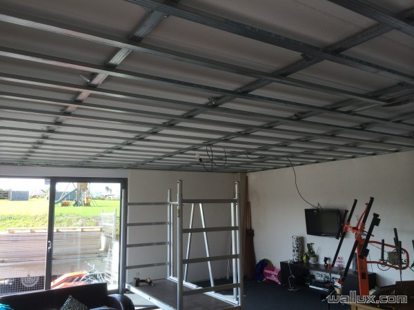 Faux Plafond en Métal Stud