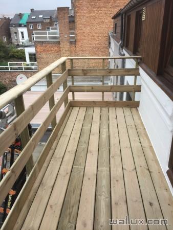 Balcon / Terrasse en bois