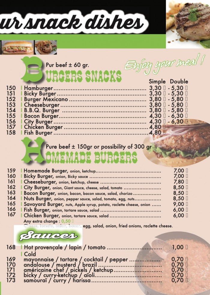 Our menu - 7