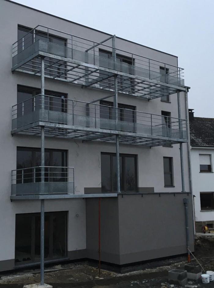 Terrasse galvanisé + Garde-corps