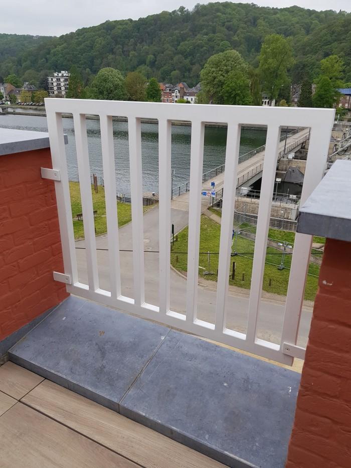 Garde-corps de terrasse sécurité
