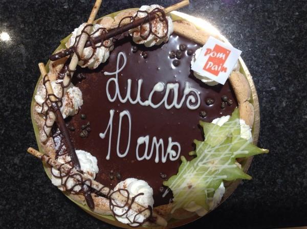 Gâteau de circonstance.