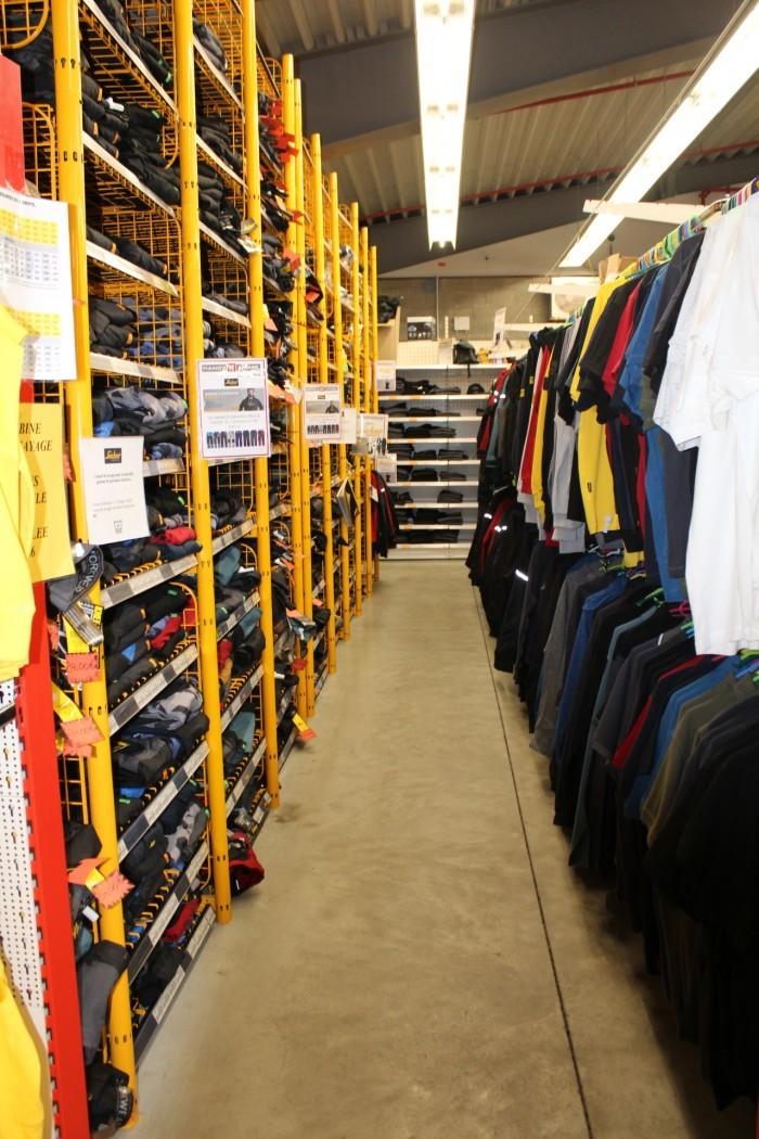 Vêtements et chaussures de travail