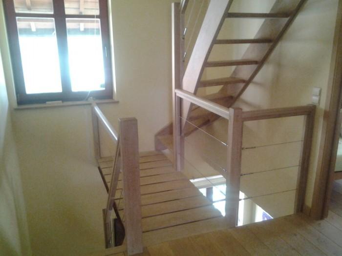 Escalier en bois sur mesure