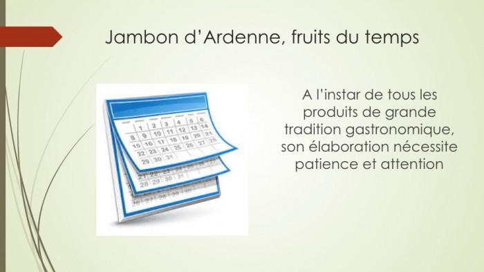 Notre jambon d'Ardenne - 7
