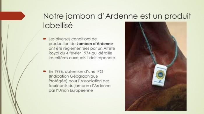 Notre jambon d'Ardenne - 14
