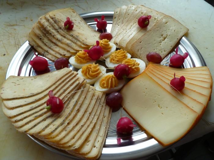 Plateau : raclette