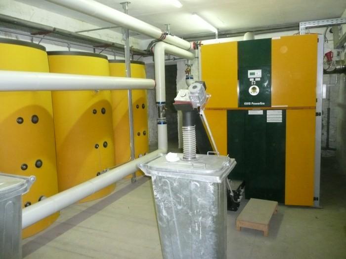 Chaudière biomasse - 1