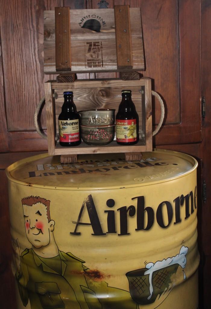 Caisse de munition Bière Air Borne