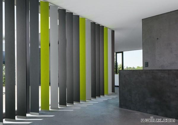 Stores à bandes verticales MHZ