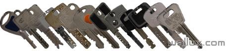Toutes vos clés de sécurie