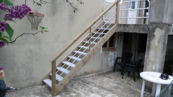 Escaliers extérieurs - 2