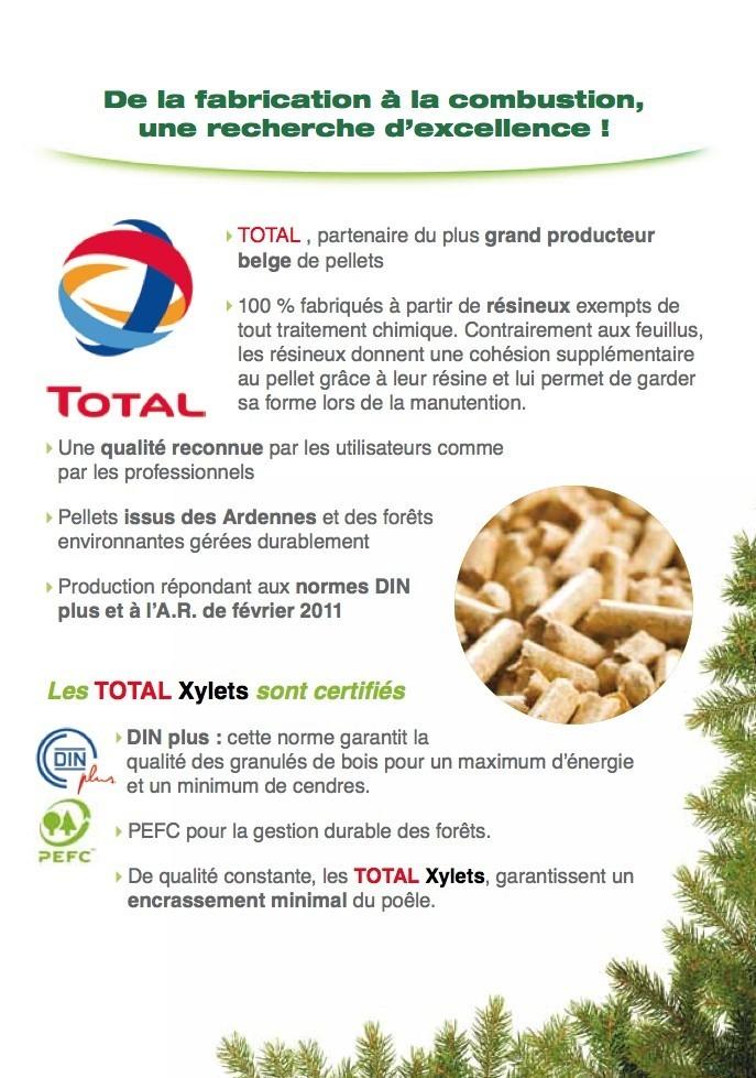Pellet Xylets Total - 5