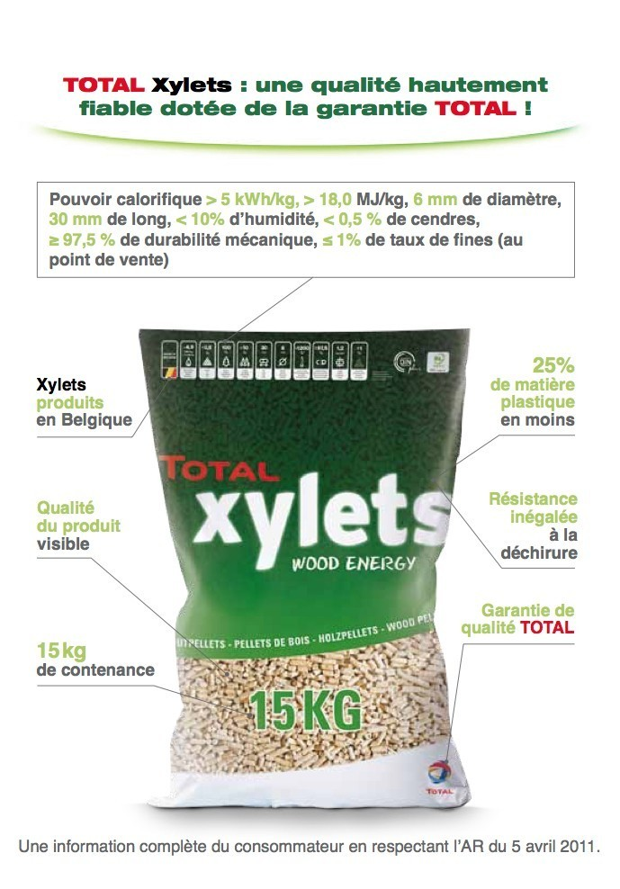 Pellet Xylets Total - 4