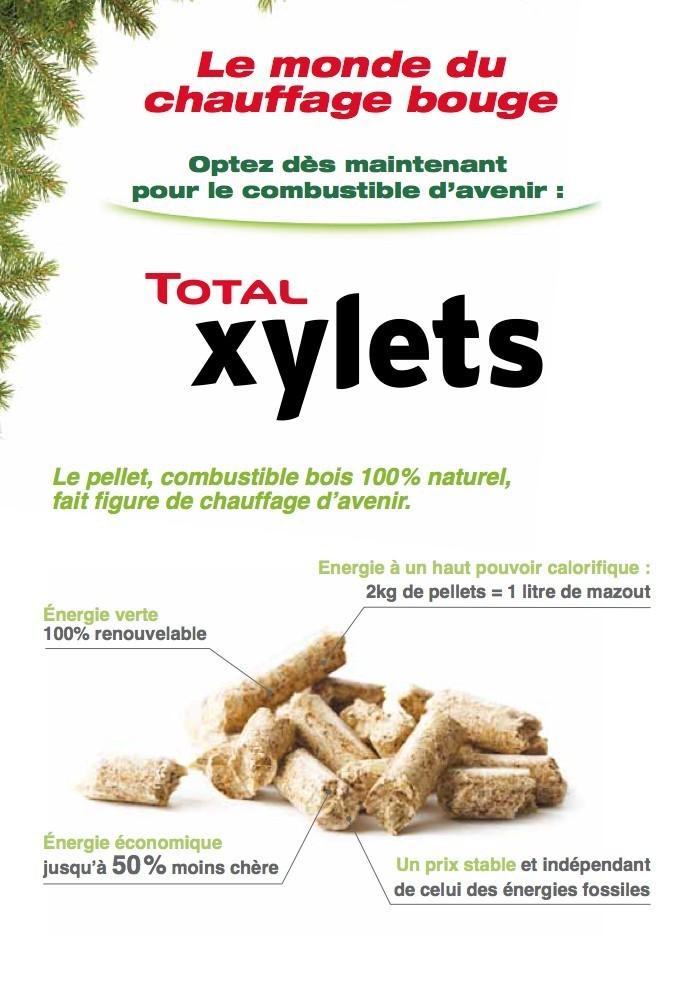 Pellet Xylets Total - 3