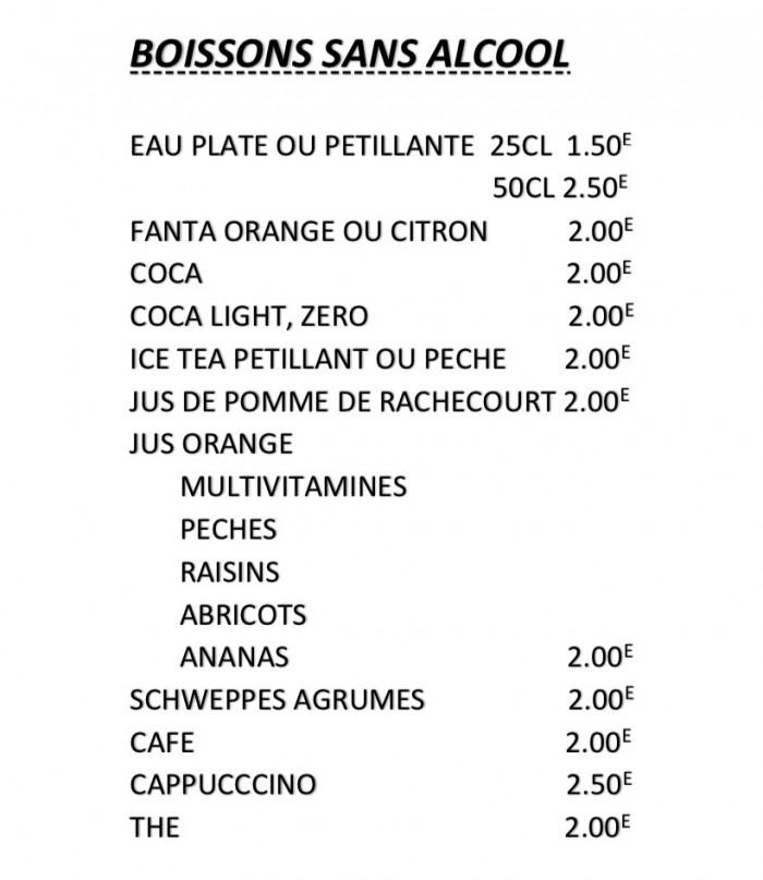 Notre carte et menus - 5
