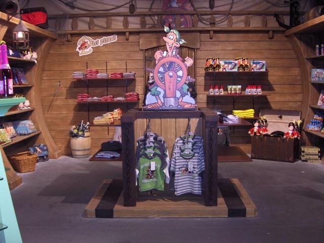 Scénette Boutique Parc Plopsaland