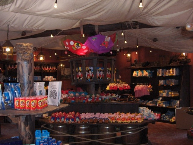 Boutique Pirate Parc Plopsaland