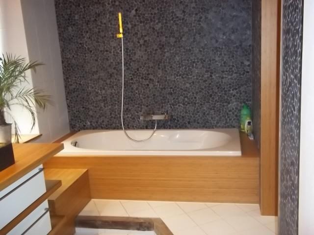 Habillage baignoire en Bambou