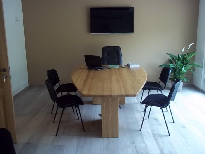 Table de réunion en Chêne Lamellée