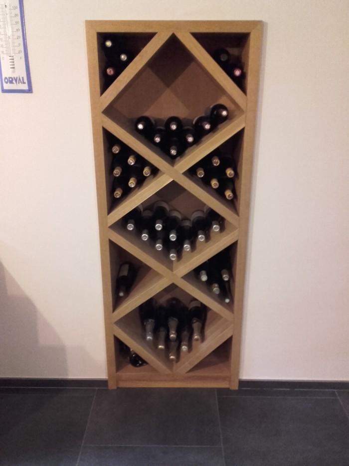 Meuble cave à vin en Chêne