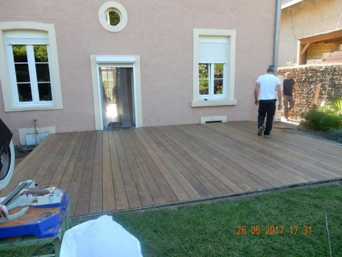 Terrasse planche (IPE)