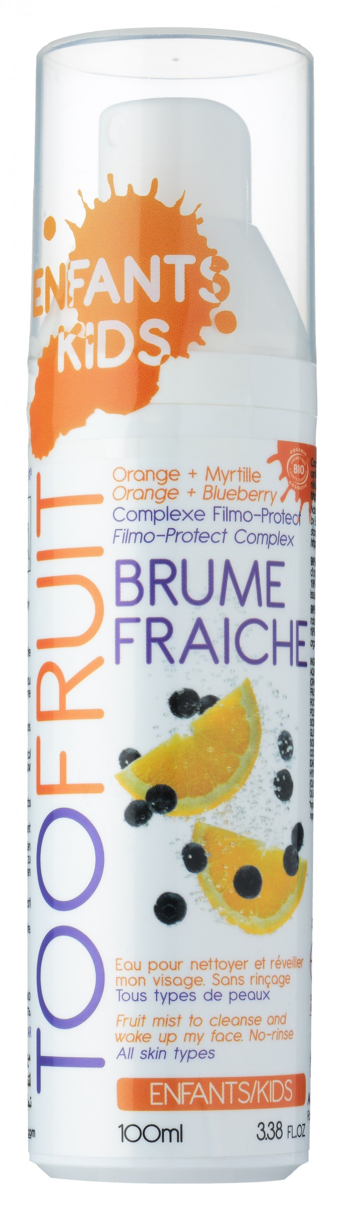 Brume Fraiche Orange - Myrtille  BIO