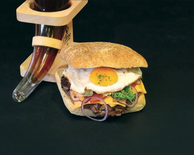 Hamburger Maison à Bastogne