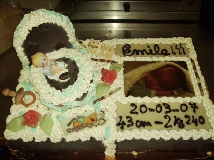 Gâteaux naissance - 4