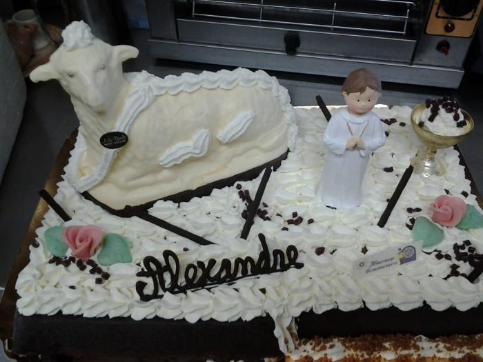 Gâteaux communions - 3