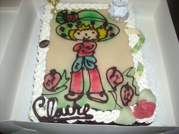 Gâteaux communions - 4