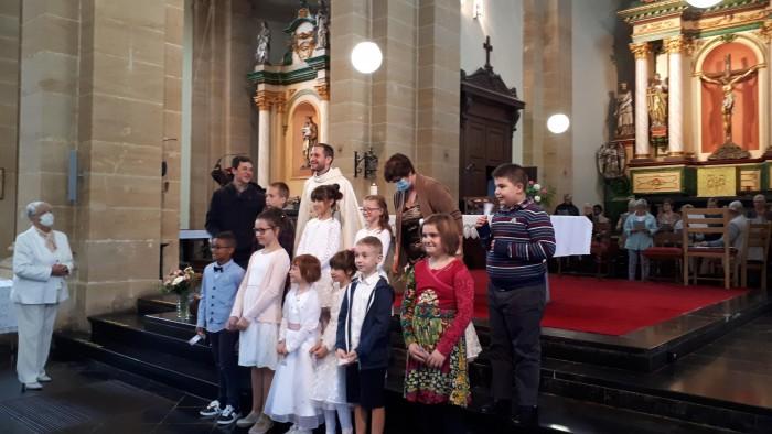 Premières Communions septembre 2020
