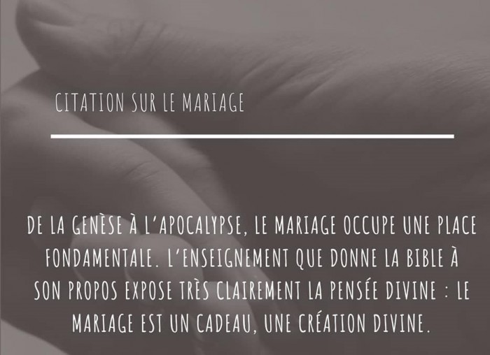 Sacrement du mariage - 6