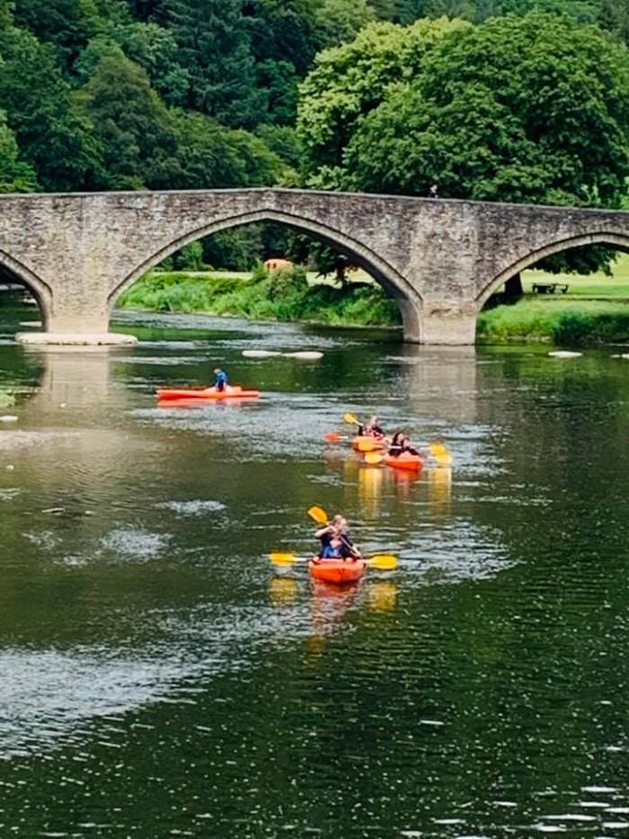 Kanoe et kayak
