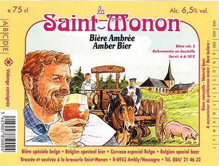 Brasserie Saint Monon à Ambly